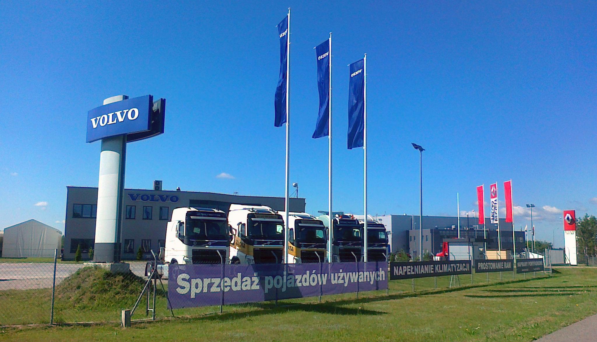 Autoryzowany serwis Volvo Trucks & Renault Trucks - Karpin (Warszawa)