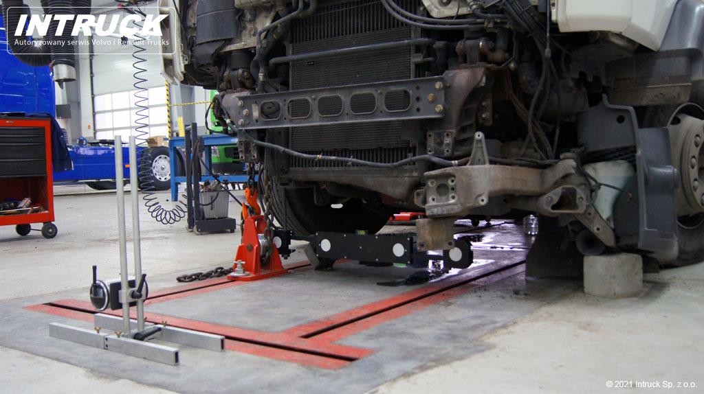 Badanie geometrii pojazdów ciężarowych
