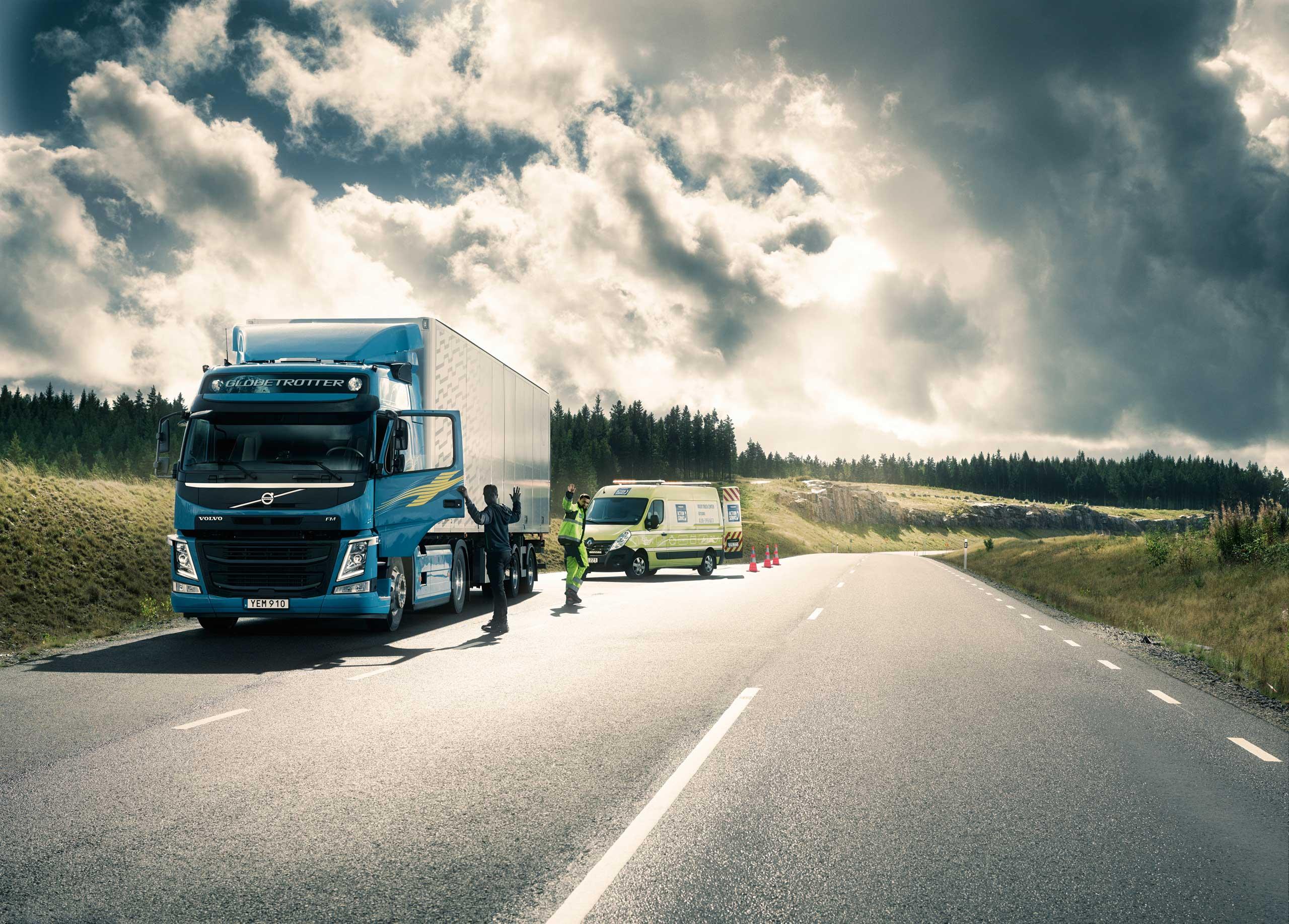 Serwis mobilny pojazdów ciężarowych